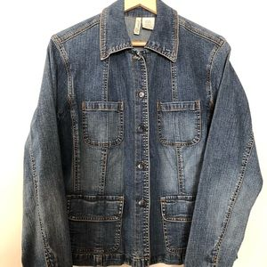 St Johns Bay Blue Denim Jacket